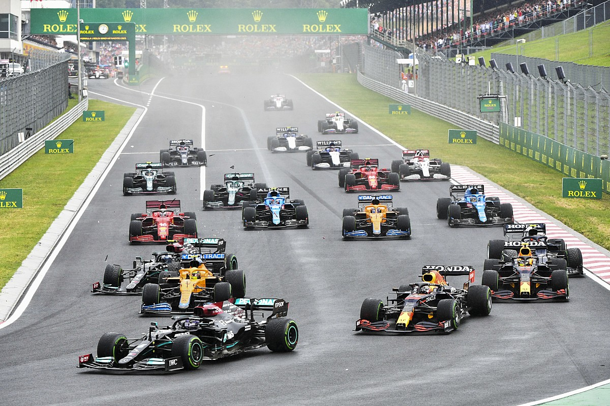 Klasemen F1 - Ocon memenangkan Grand Prix Hungaria Formula 1